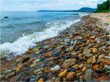 Восточный берег Байкала.