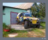 Сие авто обнаружено в дебрях частных секторов города Гомеля во время прогулки приятным осенним днём...