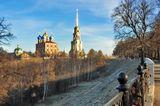 город Рязань, кремль, природа