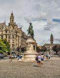 Площадь Свободы расположена в центре города. Построена в начале XVIII века, когда заселялся город. В 1866 году посреди площади был торжественно открыт памятник королю Педро IV. Композиция была создана французским скульптором Анатоле Кальме и представляла собой конную статую короля Педро IV, держащего в руке конституцию, которую он провозгласил своему народу.