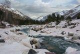 Приэльбрусье, Кавказские горы...