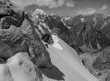 Безенги, вершина Думала (4560м), Дыхтау (5204м), Гестола (4850м), Кавказские горы.... альпинизм