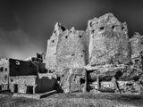 Египет. Сахара. Оазис Сива. Руины средневековой крепости.