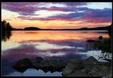 """* * * """"Жизнь есть дар. Никогда не забывайте наслаждаться каждым моментом ее.""""Селестина Чуа* * *Озеро Исо-Расти, Центральная Финляндия"""
