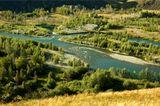 Река Курчум, Среднее течение, Восточный казахстан