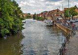 Бавария, Верхняя Франкония, Бамберг - город на реке Регниц
