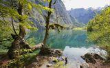 Германия, Бавария, горы, Альпы, озеро, Оберзее