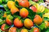 mango, barcelona, fruits, market