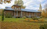 Усадебный дом в имении Толстых Никольское-Вяземское.