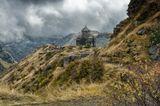 Армения. Церковь на территории крепости Амберд.