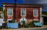 Греция. Закинф. Один из немногих старых домов, переживших землетрясение1953 года.