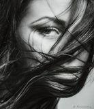 """Искусствоведческое про портрет.""""В итоге можно дать следующее определение жанра портрета в его классическом виде: портрет раскрывает с позиций эстетической категории «серьезного» и в рамках живописного стиля истину человеческой индивидуальности посредством одушевленного изображения внешнего облика человека (композиция изображения такова, что в центре оказывается лицо и глаза), выражающего рефлексивно-медитативное состояние модели и автора""""."""