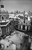Mесто фотографирования, Староместская мостовая башня, Карлов мост-Cтарый Город-Прага-1