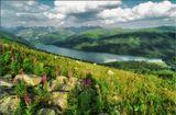 Алтай, Катунский хр. оз.Тальменное