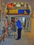 В мастерской Флорентийских художников