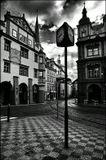 Mесто фотографирования, Малостранская площадь-Мала Страна-Прага-1