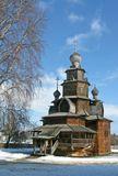 Музей деревянного зодчества. Церковь ярусного типа 18 века.