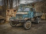 Вот на таких машинах ездят настоящие горцы))В горах Северной Осетии.