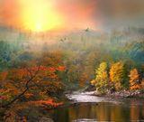 Квебек,каньон Святой Анны