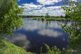 Тюменская область, река Тура в своем разливе