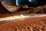 Тайны красной планеты...