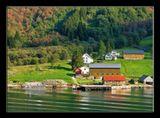 Норвегия. Вода во всех фьордах разного цвета!!!