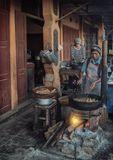 Типичное утро в Юго Восточной Азии. Бирма. Ньянг Шве.путешествие,городской,пейзаж,Азия,Бирма, Ньнг, Шве,Инле,