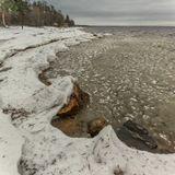 Это декабрь...Финский залив, п.Репино