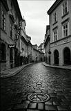 Mесто фотографирования, улица Мишеньска-Мала Страна-Прага-1