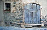В деревне Бесалу, Каталония.