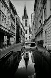 Mесто фотографирования, улица Малая Штепанска-Новый Город-Прага-1