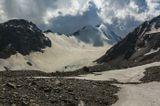 вершина Шаухох (4636м), ледник Гольда, Осетия, Кармадонское ущелье...