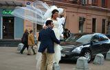 Москва,Арбат,свадьба