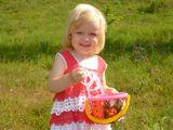 #дети#радость#прогулка за ягодами#набегаться вволю#счастье