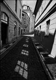 Mесто фотографирования, улочка Янский вршек-Мала Страна-Прага-1