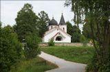Церковь Троицы Живоначальной (построена по проекту художника В.Д. Поленова), Бёхово. 14.07.2018.