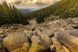 Каменная река Витоша гора - Болгария