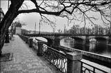 Mесто фотографирования, набережная Яначека-Смихов-Прага-5