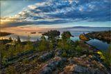Карелия, Ладожское озеро, утро