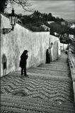Mесто фотографирования, Старая замковая лестница-Пражский Град-Прага-1
