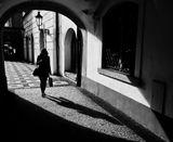 Mесто фотографирования, Томашска улица-Мала Страна-Прага-1