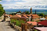 """Сигнахи - """"город любви"""" посреди Алазанской долины в Грузии."""