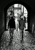 Mесто фотографирования, у улице Тинская-Cтарый Город-Прага-1