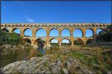 Пон-дю-Гар (фр. Pont du Gard, букв. «мост через Гар») — самый высокий сохранившийся древнеримский акведук. Перекинут через реку Гардон (прежде называемую Гар) во французском департаменте Гар близ Ремулана. Длина 275 метров, высота 47 метров.