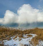 Потепление подарило нам радугу.зима, радуга, Крым