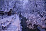 Зима, Переделкино