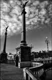 Mесто фотографирования, Дворжакова набережная-Чехов мост-Cтарый Город-Прага-1