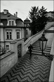 Mесто фотографирования, Старая замковая лестница-Мала Страна-Прага-1