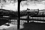 Mесто фотографирования, набережная Дворжака-Cтарый Город-Прага-1
