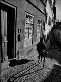 Mесто фотографирования, улица Янский вршек-Мала Страна-Прага-1